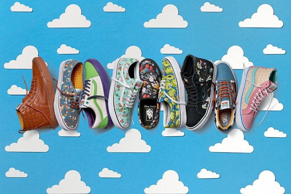 toy story scarpe vans