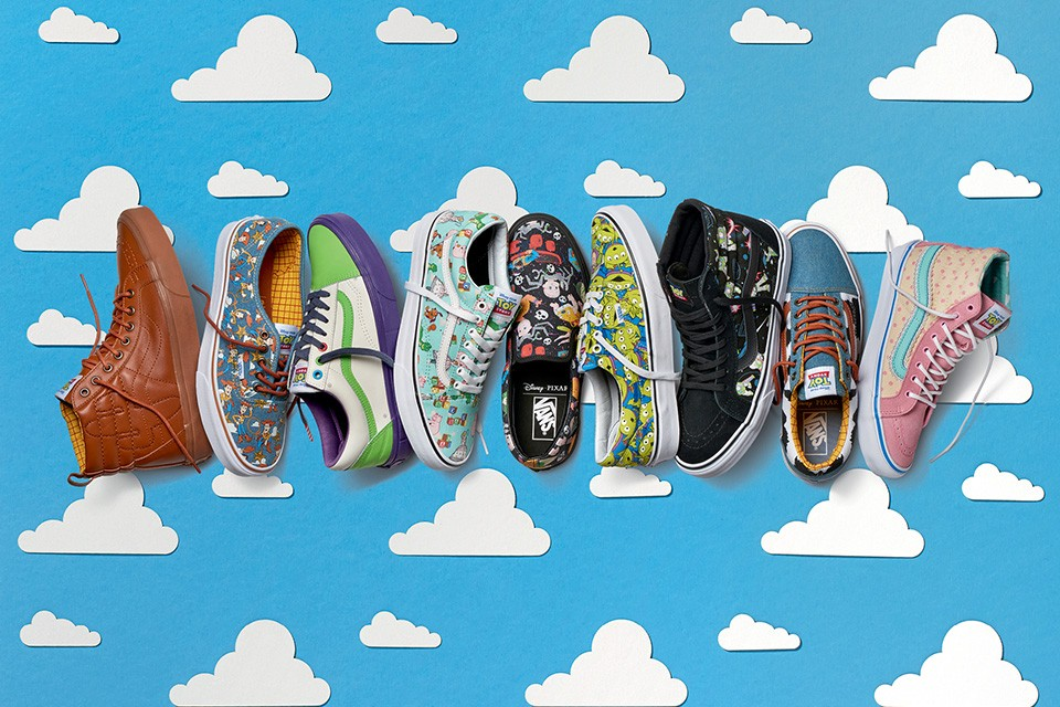 Vans e Toy Story: amore oltre l'immaginazione