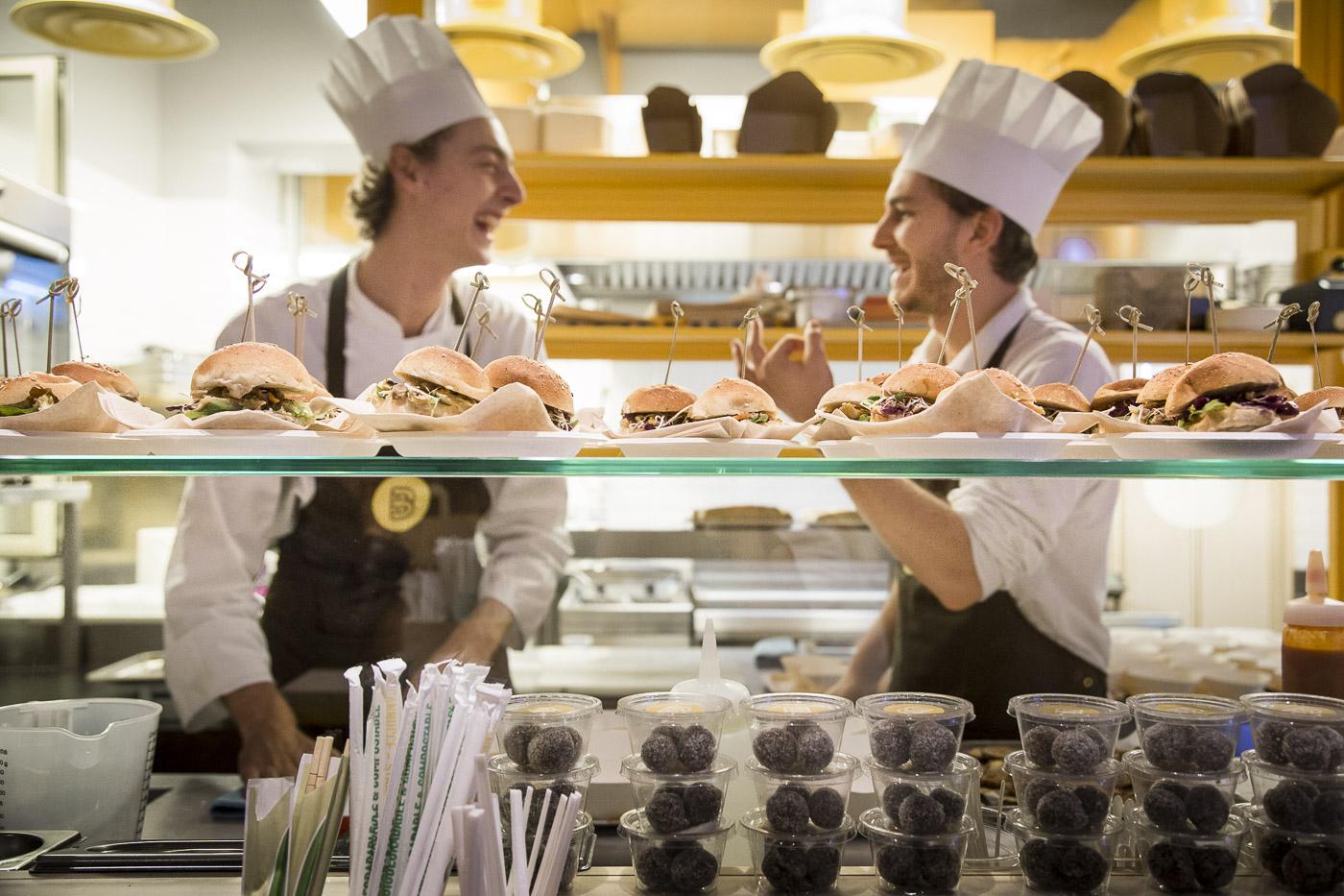 Banco: Il fast food 100% naturale fa a Roma il bis