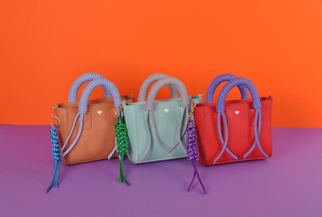 Isla Fontaine lancia la sua prima collezione di borse