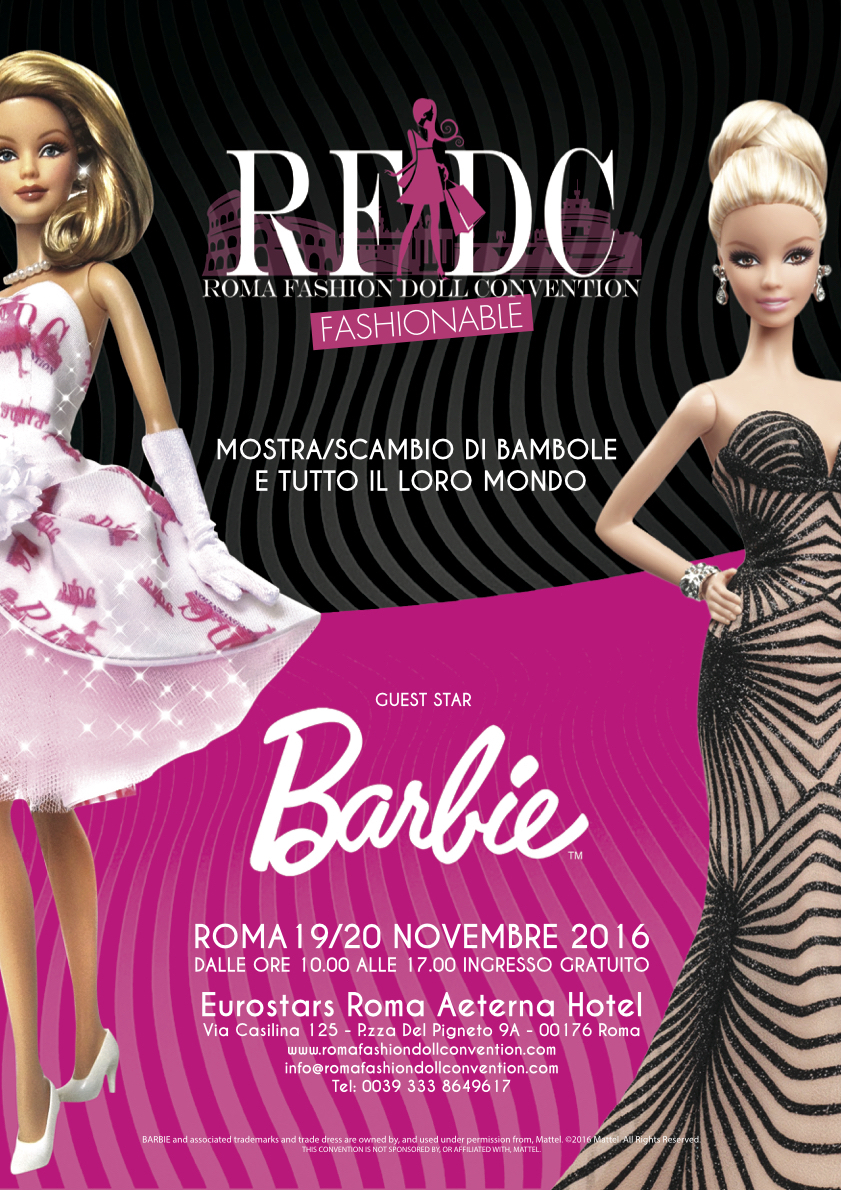 Roma Fashion Doll Convention: a Roma la seconda edizione
