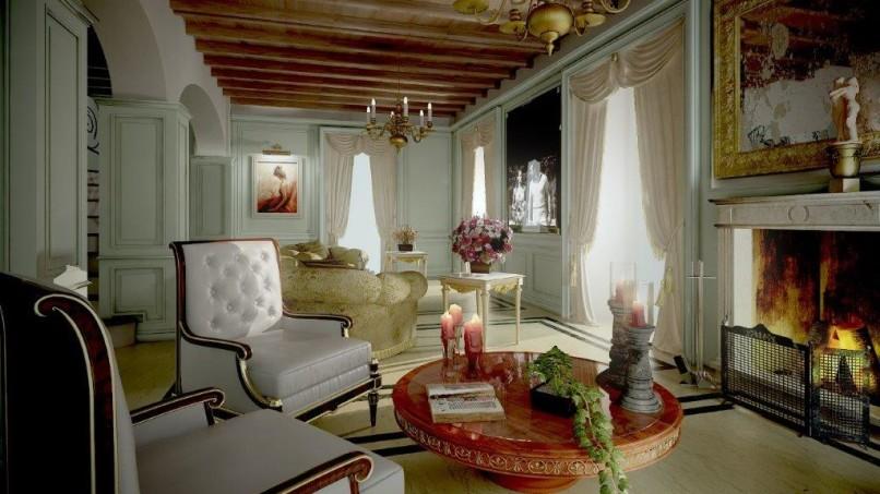 Interior d'autore sulle sponde del lago di Como