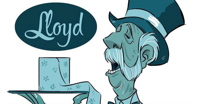 Vita con Lloyd: si, Sir?