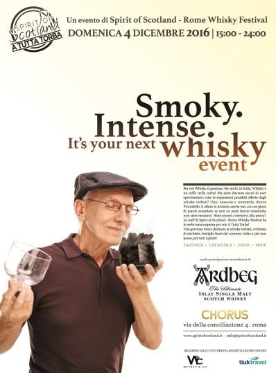 A tutto whisky! Appuntamento a Roma il 4 dicembre