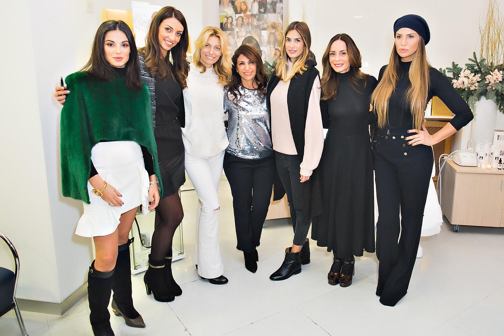 A Milano il  super party di bellezza e star di Mimi Luzon