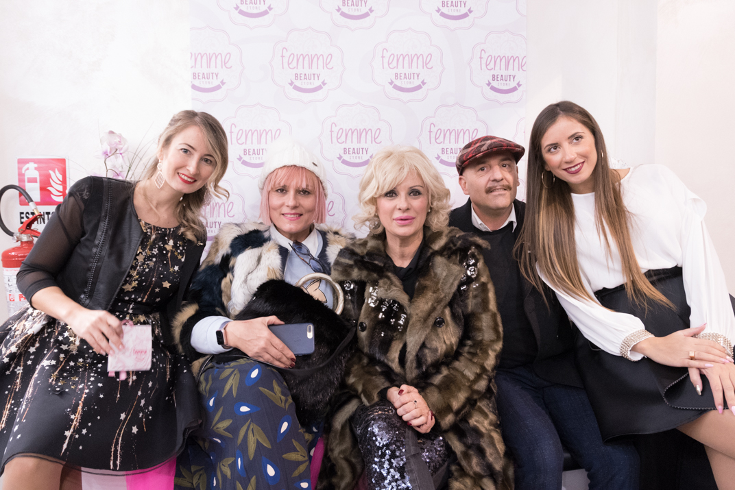 Tina Cipollari special guest per il Christmas Cocktail Party di Femme Roma