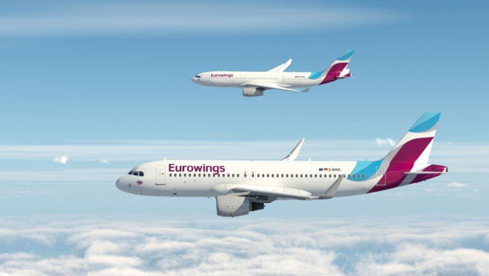 Eurowings è la prima compagnia aerea low cost  con il wifi