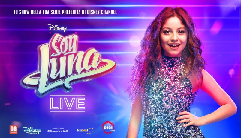 Soy Luna Live in Europa da gennaio 2018