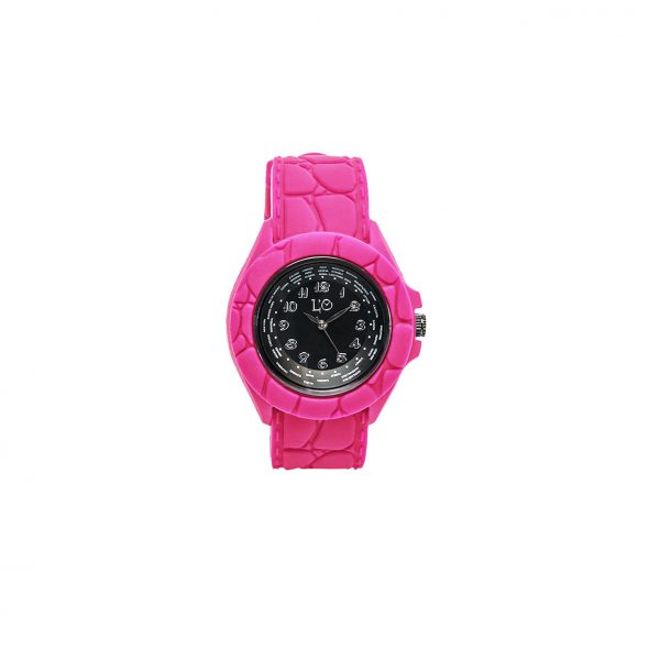 L'O WATCH_Rosa fluo