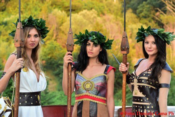 Modelle gladiatrici_Foto Daniele Cama