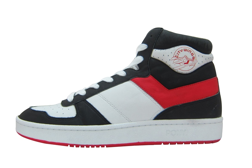 PONY city-wings-high_white-black-red