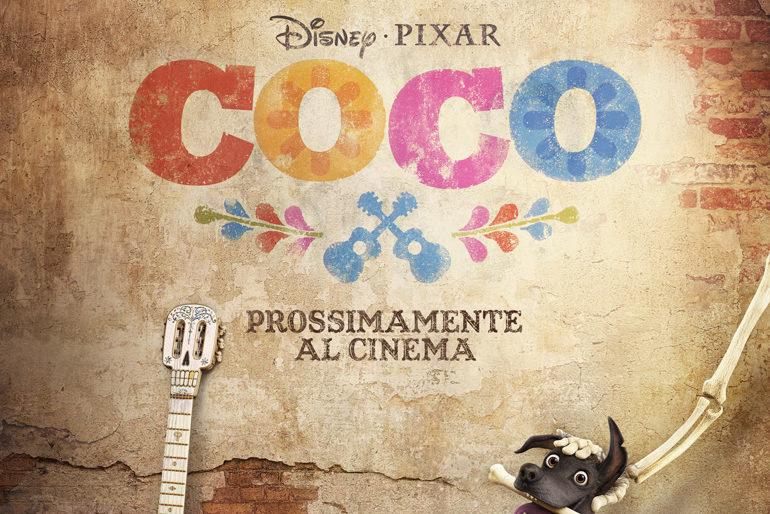 Il primo poster in italiano di Coco, il nuovo lungometraggio DISNEY•PIXAR
