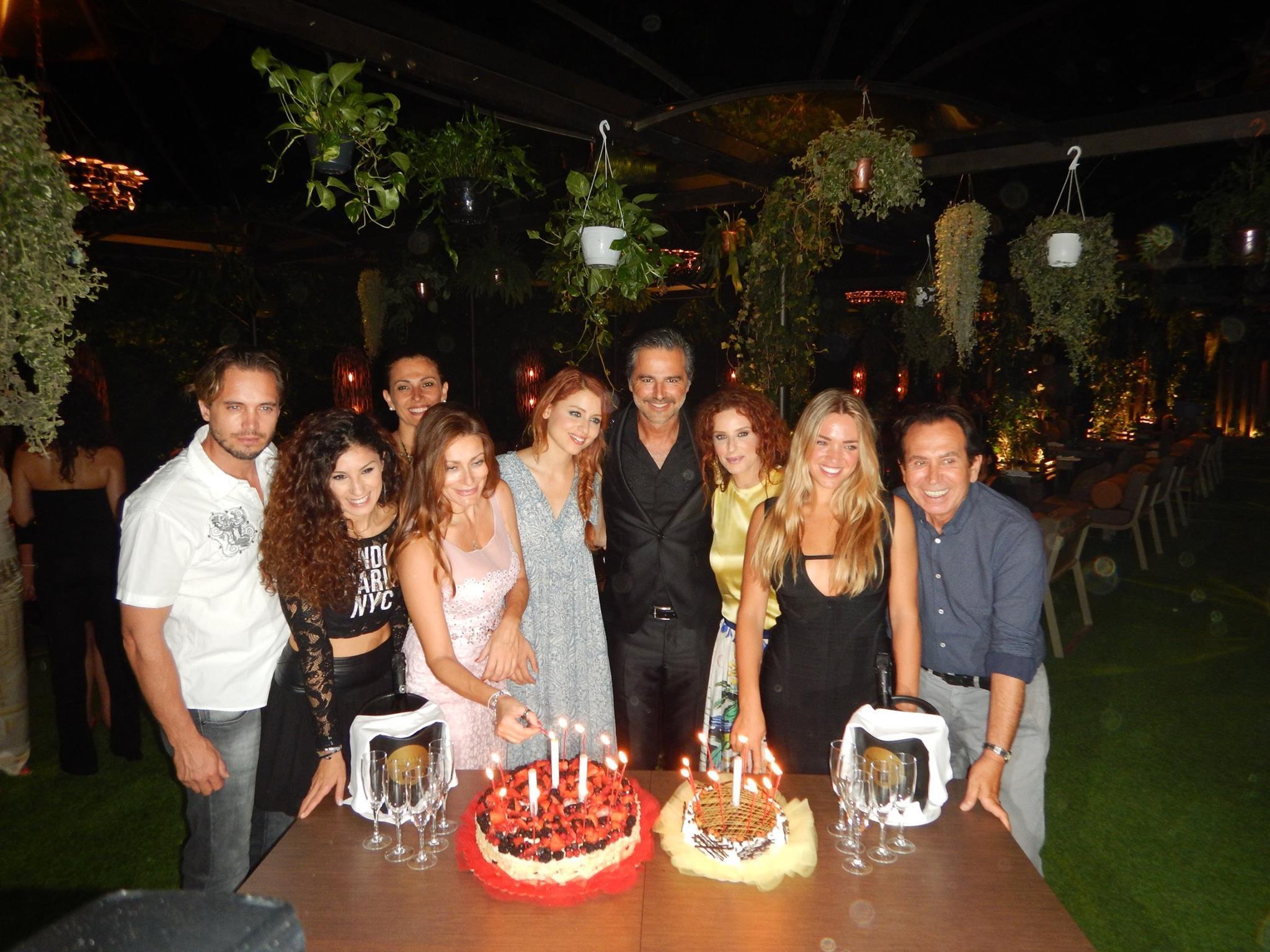Grande festa per il compleanno di Beppe Convertini