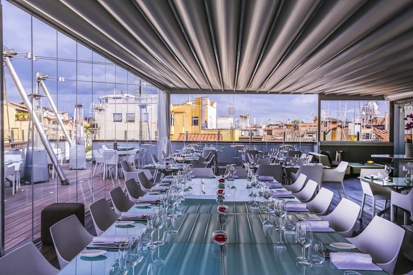 HI-Res High Restaurant: un piccolo gioiello sopra i tetti di Roma