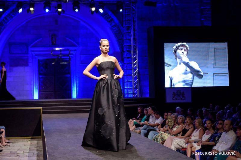Renato Balestra inaugura la Fashion Week di Kotor