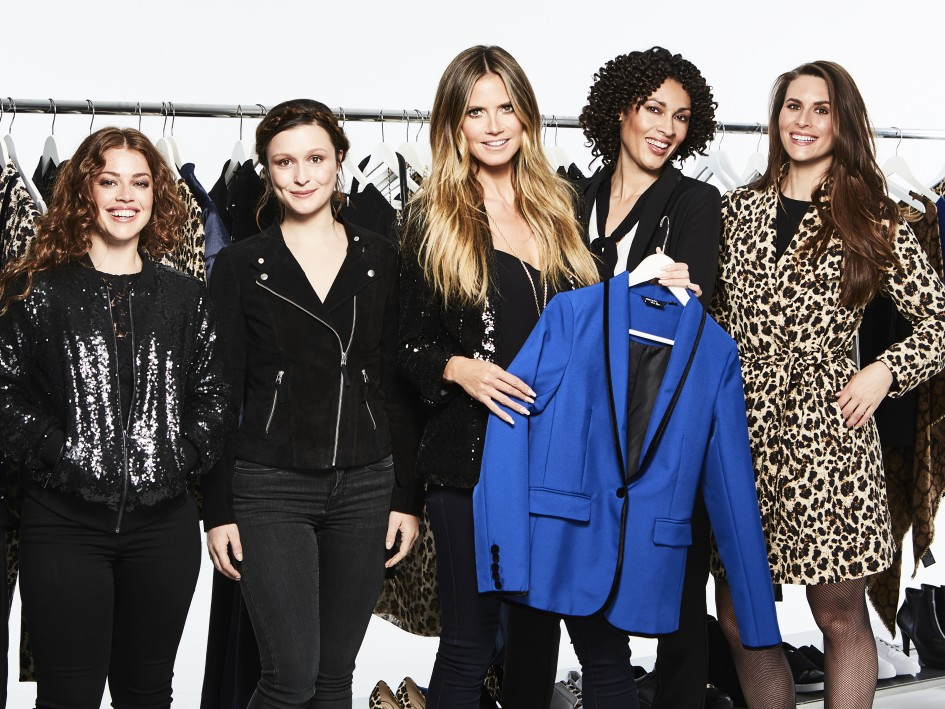 Esmara by Heidi Klum_Heidi and the girls. Key piece - The blazer in electric blue