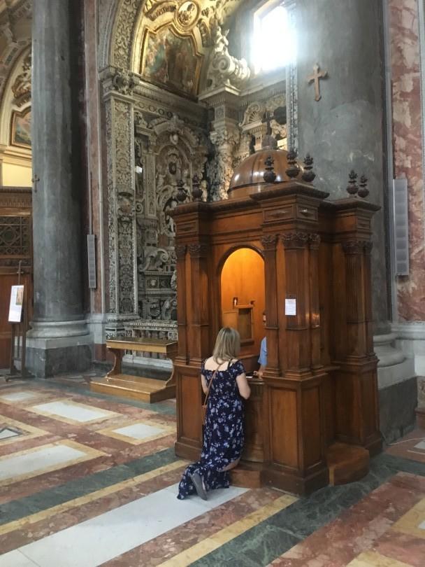 San Giuseppe dei Teatini confessione