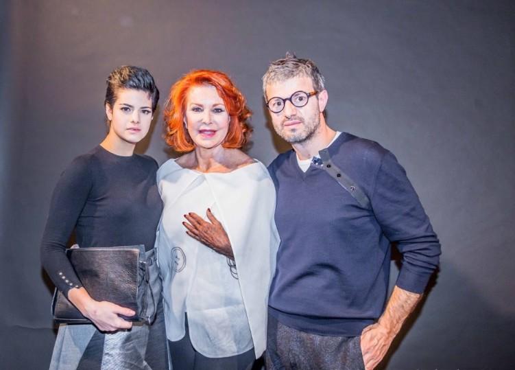 Lucrezia Camaiani, Marina Ripa di Meana e Vittorio Camaiani