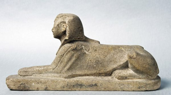 Statua di Amenofi II in forma di sfinge, dal Tempio di Karnak (© The Egyptian Museum, Cairo) [Nr archiv.: 68]