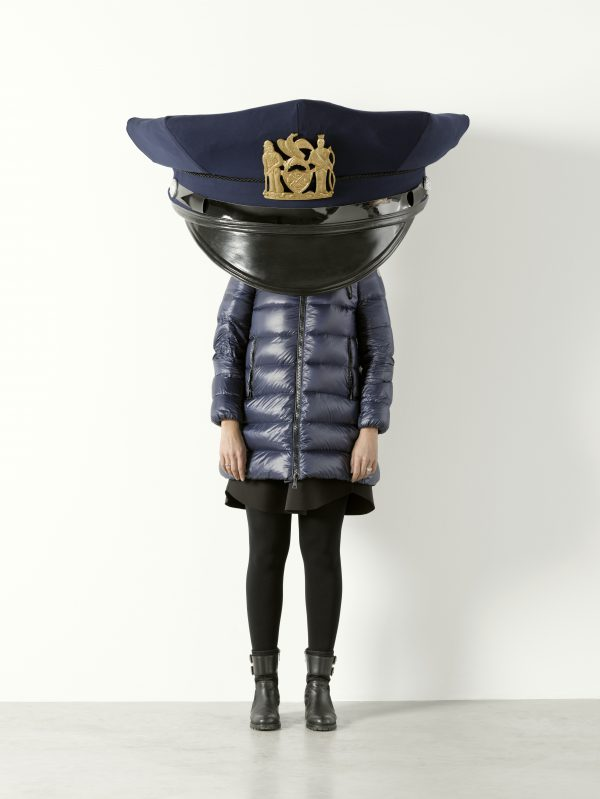 Erwin_Wurm_New_York_Police_Cap_Gold_1
