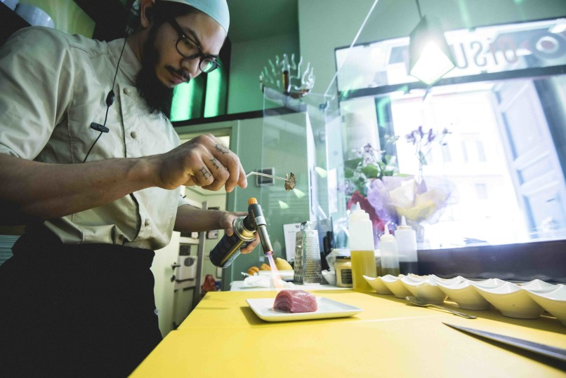 OiSushi: il dream brasiliano a Roma
