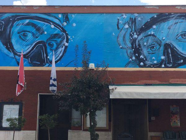 Street Art BLUB Monteriggiano