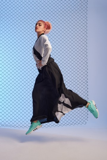 AW LAB e adidas Originals presentano Live WOW con Roshelle