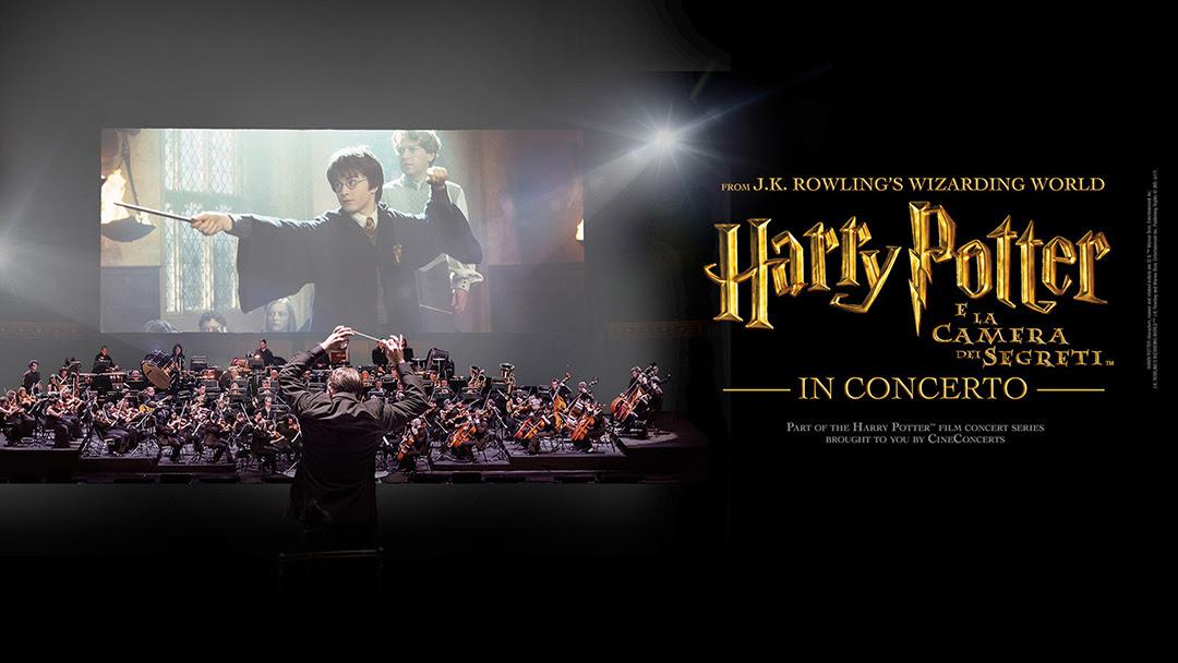 Il secondo capitolo di Harry Potter in concerto