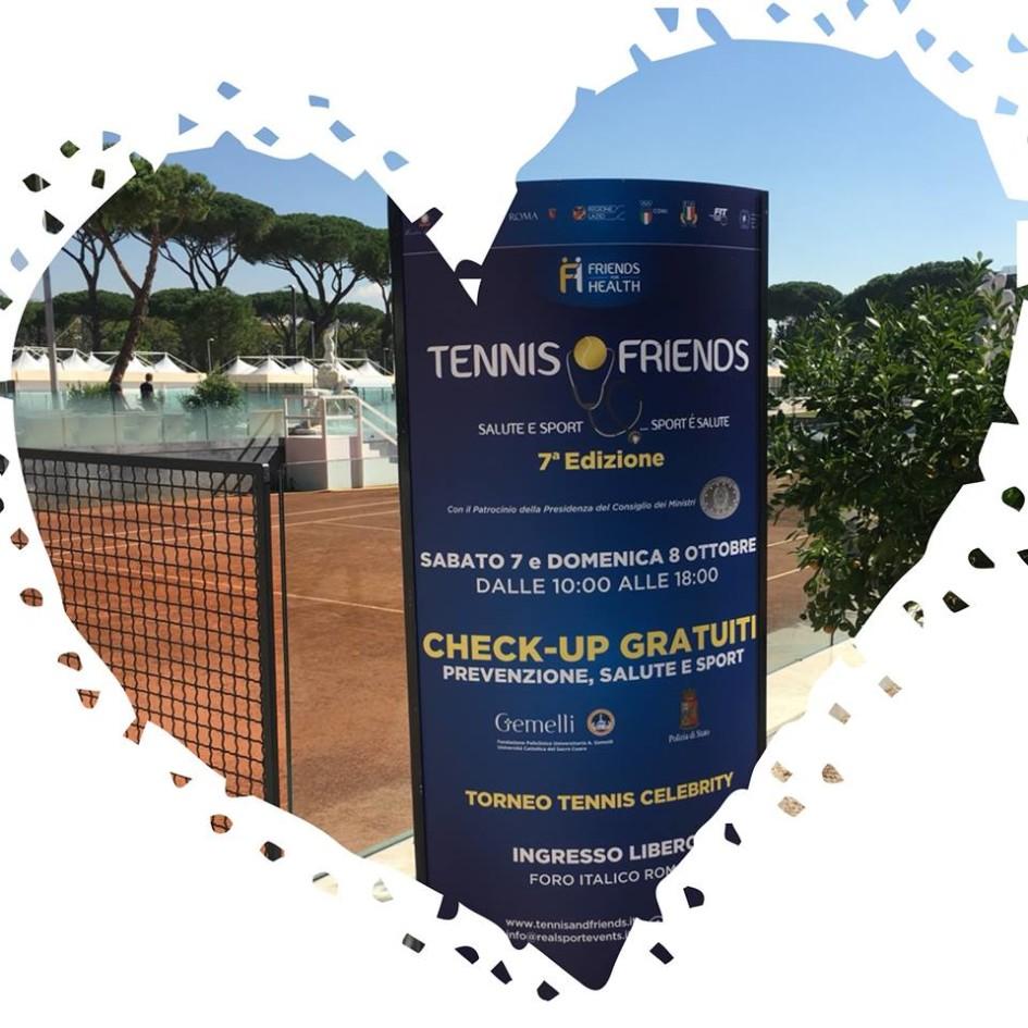 Tennis and Friends Cappiello Design