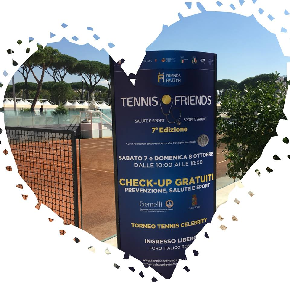 Cappiello Design sostiene la VII edizione di TENNIS AND FRIENDS