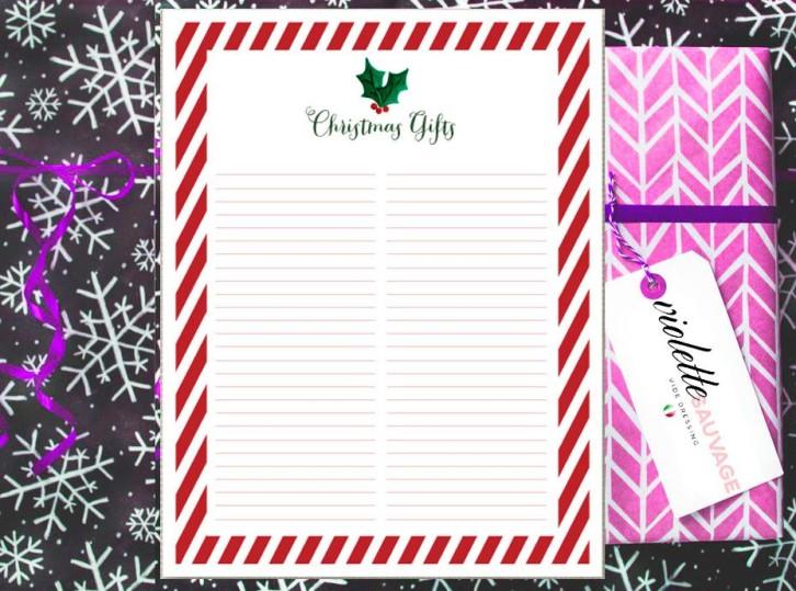 Per i regali di Natale scegli Violette Sauvage