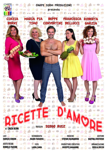 Ricette d'Amore in tour per l'Italia