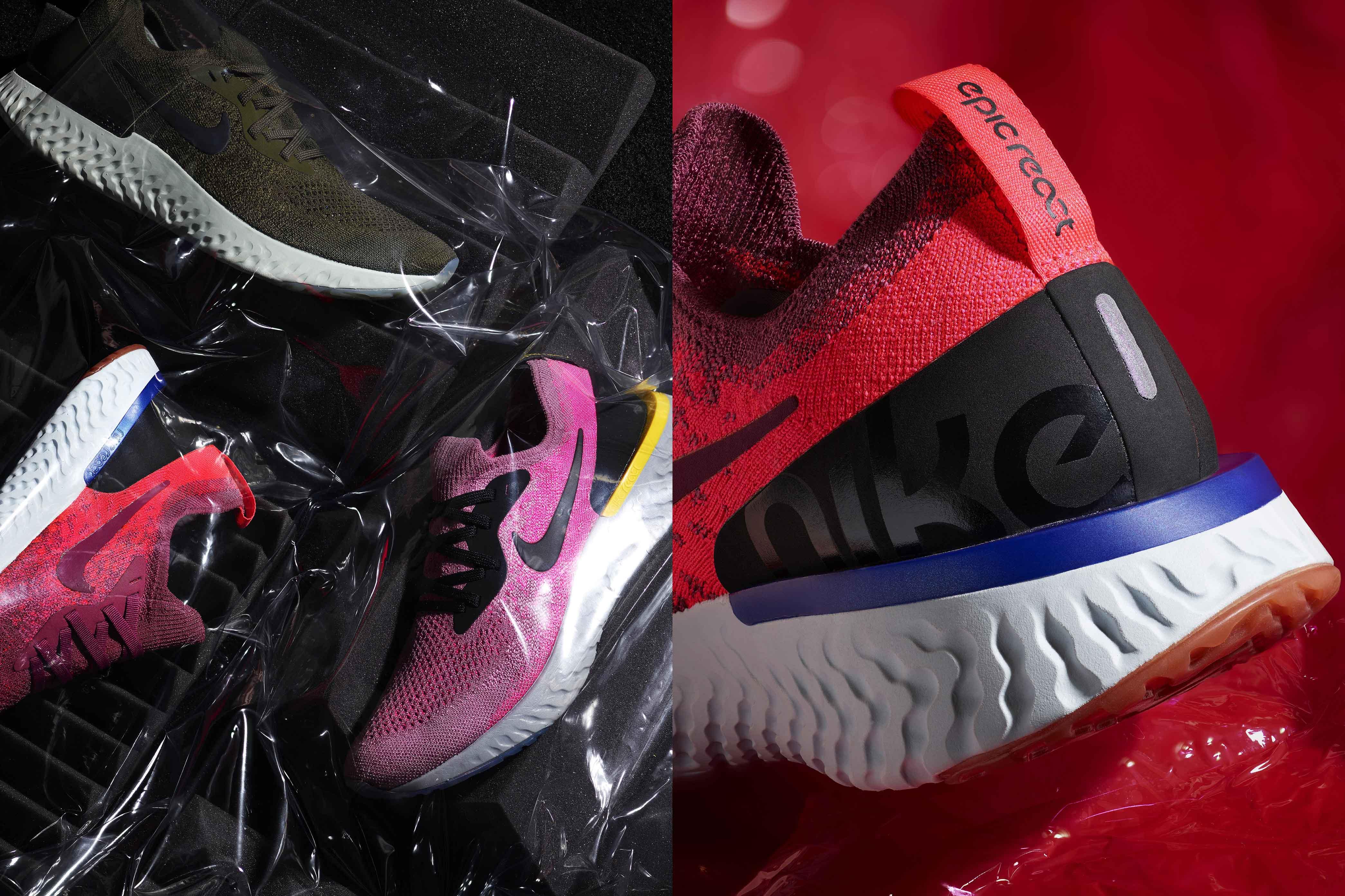 Nike ripensa le sneaker da donna in quattro modi diversi