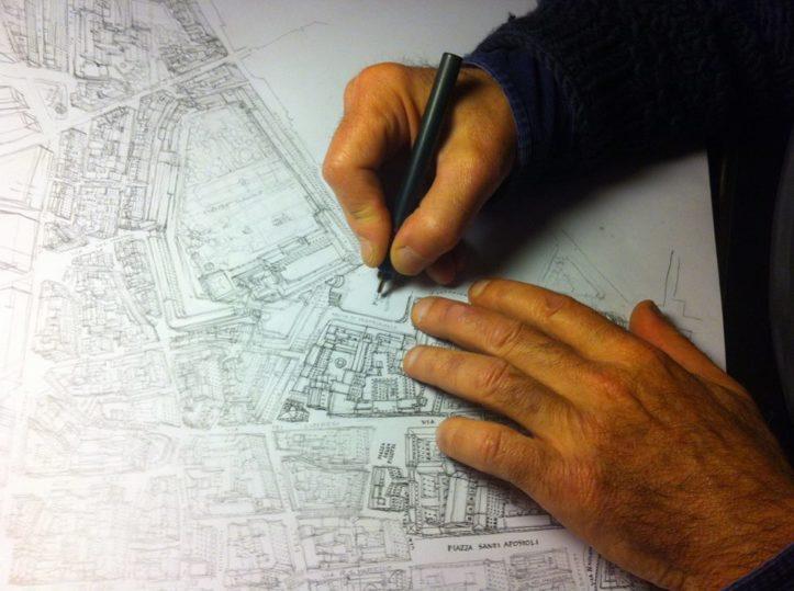 Milano Tips: la food directory disegnata a mano da Mario Camerini