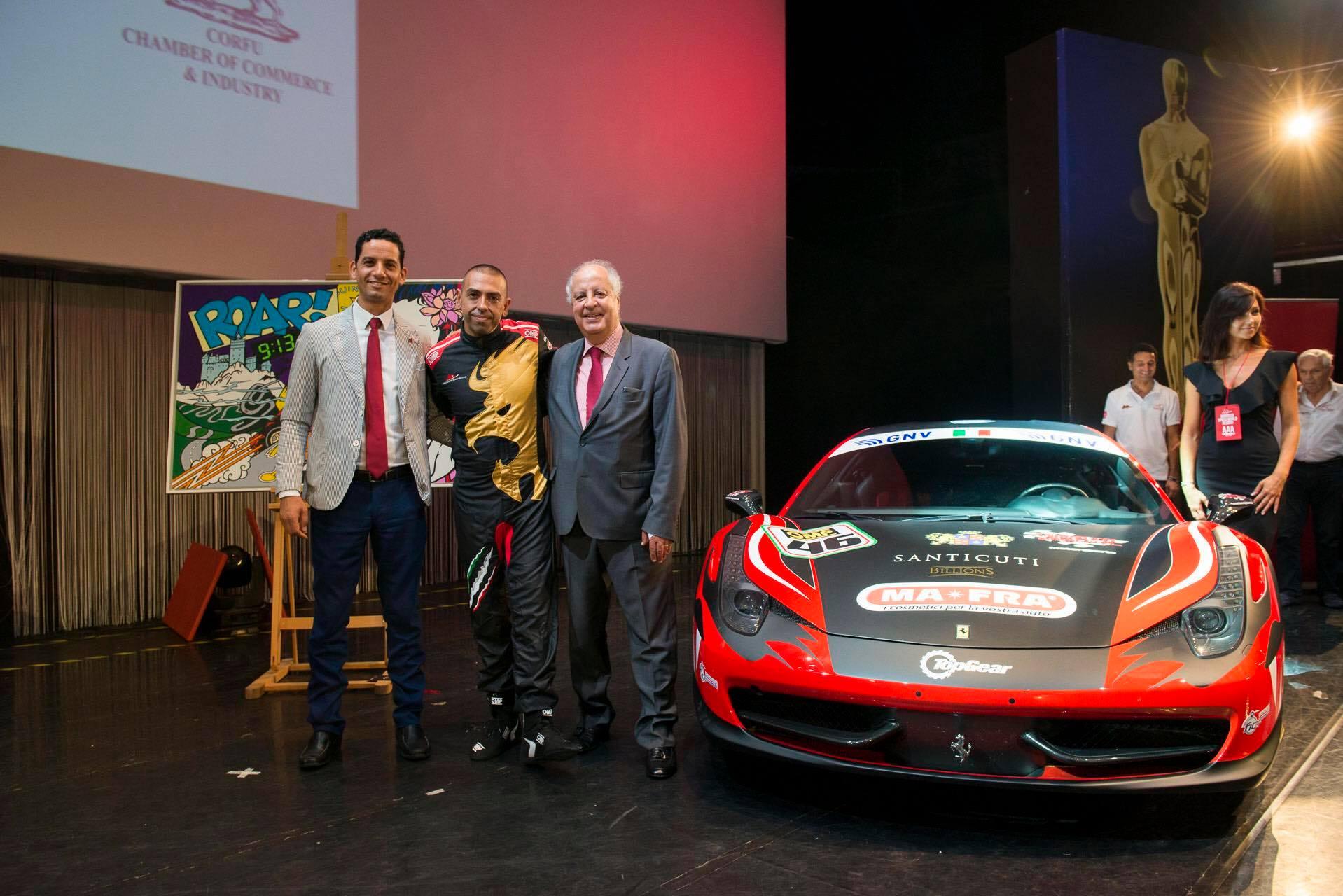 Con la Ferrari nel cuore: la storia di Fabio Barone in cerca del terzo record