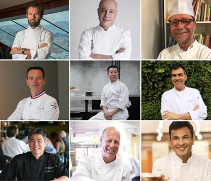 9 chef stellati per la World Cruise di MSC Crociere