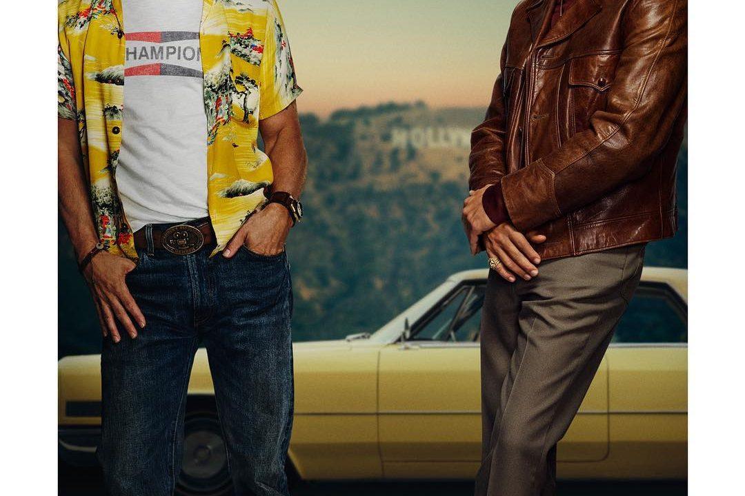 Leonardo DiCaprio pubblica la locandina del film di Quentin Tarantino, l'ultimo interpretato da Luke Perry