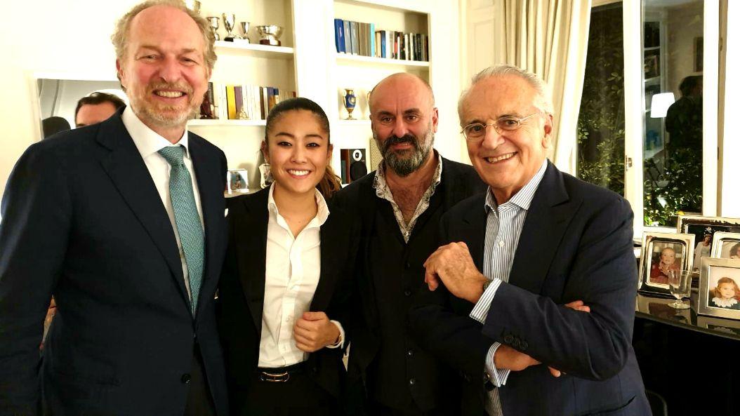 Il Dinner per Davide Livermore con Micheli, Tatò e Boeri a Milano