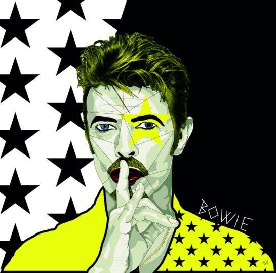 La mostra su David Bowie a Spazio Cima