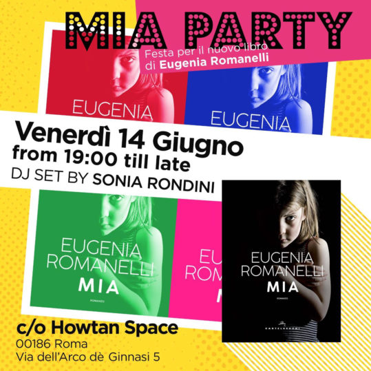 Mia Party: festa per il nuovo libro di Eugenia Romanelli