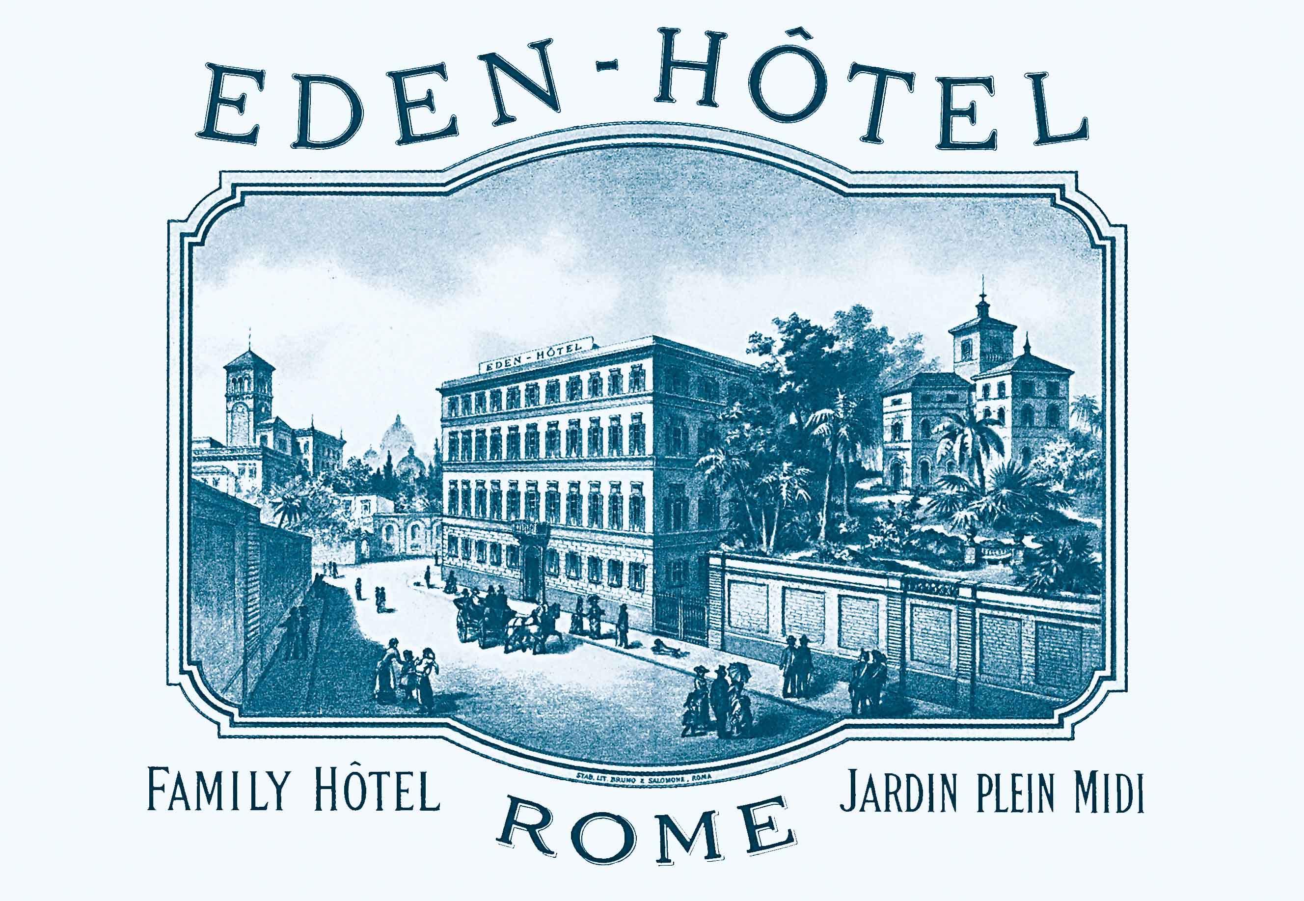 L'Hotel Eden celebra i suoi primi 130 anni