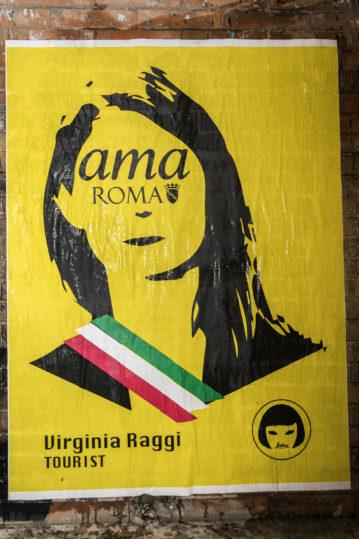 Dalla Raggi a Jovanotti, la Street Artist Laika colpisce ancora