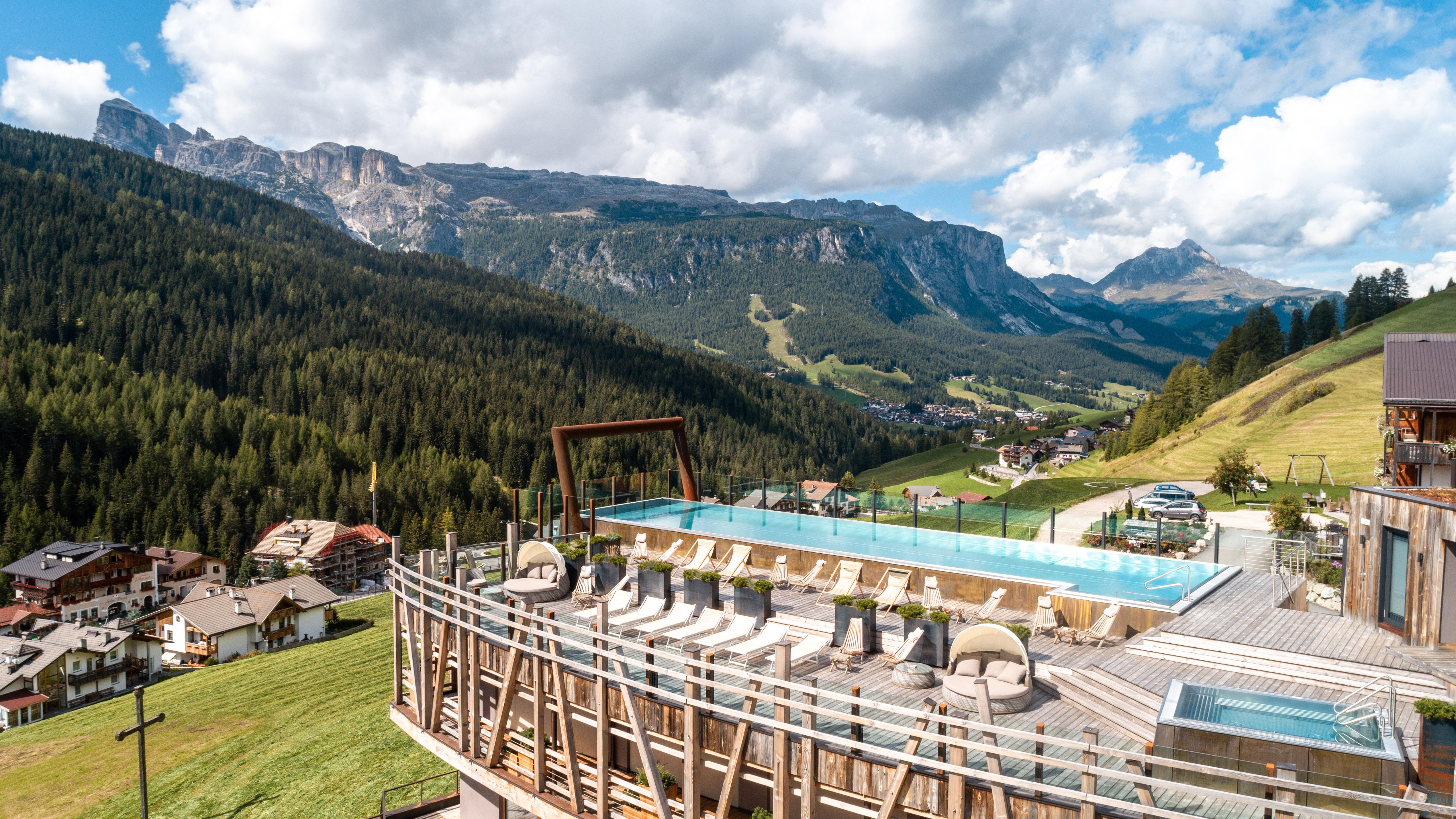 Dolomiti Wellness Hotel Fanes, paradiso per gli amanti del golf