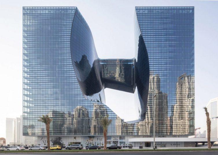 Opus: l'avveniristico palazzo di Zaha Hadid presto sarà inaugurato a Dubai