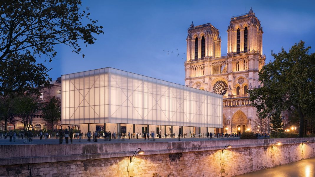 Notre-Dame: svelato il progetto temporaneo per la Cattedrale