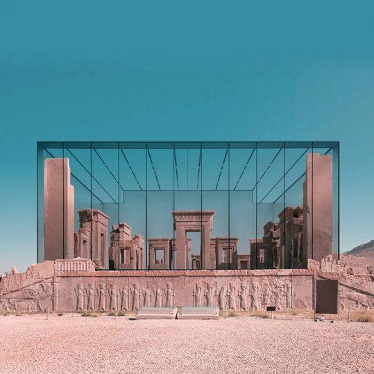 L'architettura contemporanea si fonde con i siti archeologici in Iran