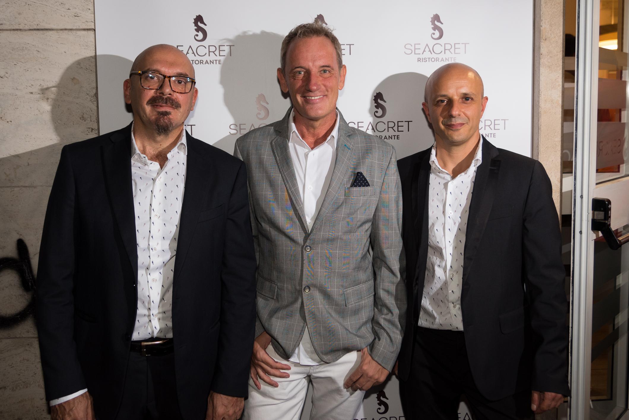 Seacret: a Roma il nuovo ristorante di Paolo Onorato e Fabrizio Zonnini