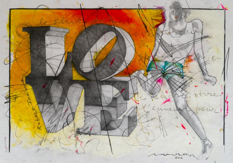 """""""Veloci-Raptor"""": Enrico Manera in mostra a Roma presso """"Il Margutta Veggy Food &  Art"""""""