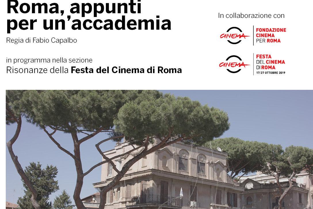 """NABA presenta il documentario """"Roma, appunti per un'accademia"""""""