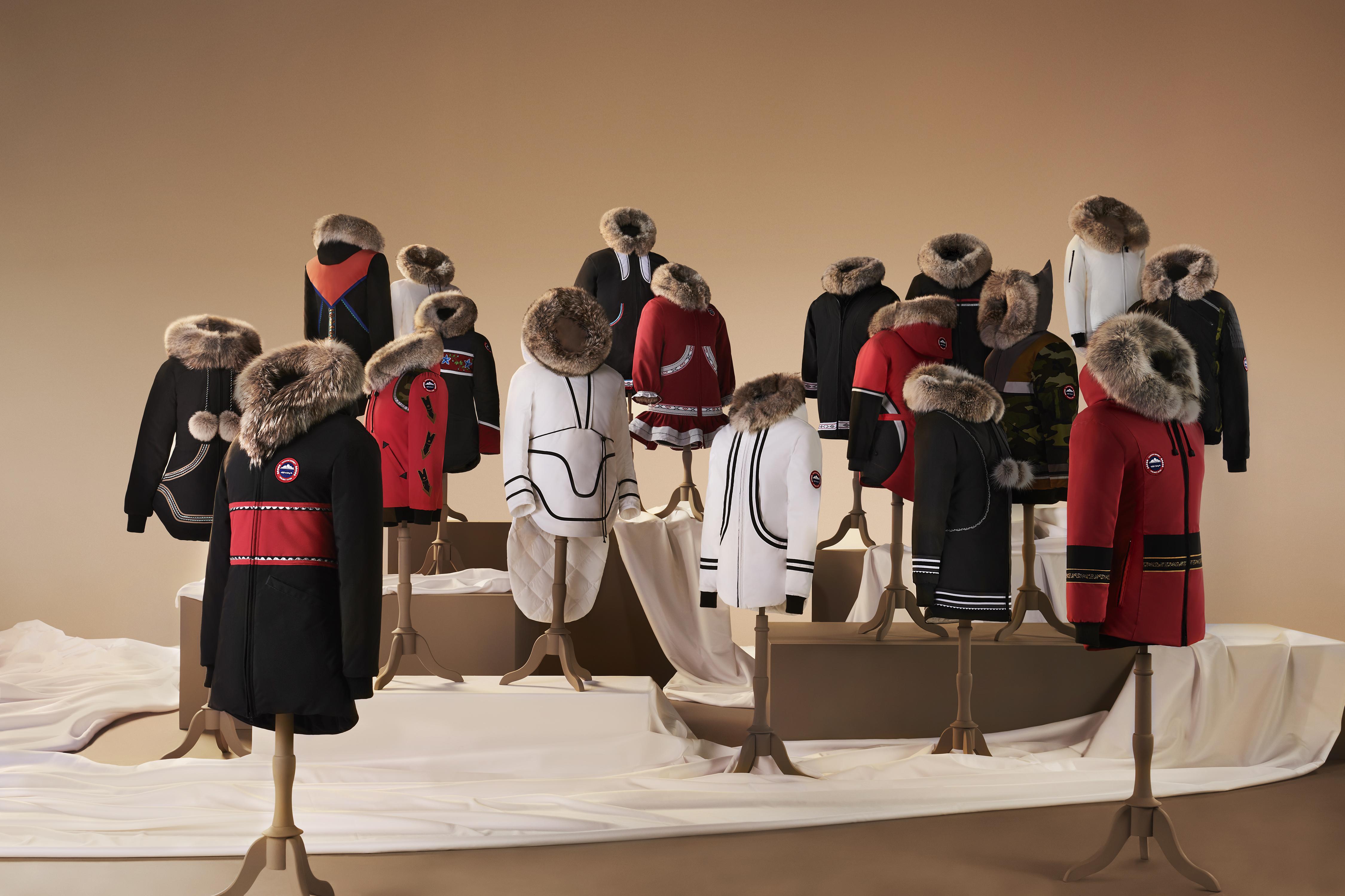 Canada Goose presenta Project Atigi Collection con 18 designers Inuit